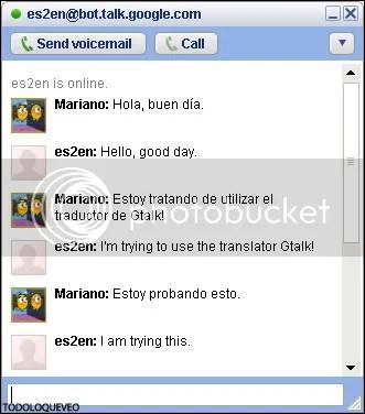 Literalmente se puede conversar con el Bot Traductor