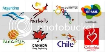 TURISMO. Imágen de las Secretarias/Ministerios de Turismo! (click y se agranda)