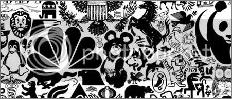 ANIMALES. Logos del mundo (famosos) que son un animalito!