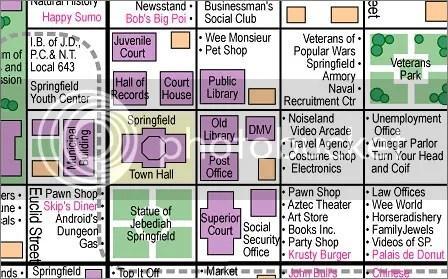TRABAJO. El mapa realizado por Jerry Lerma and Terry Hogan, a partir de la visualización de los capitulos de la serie.