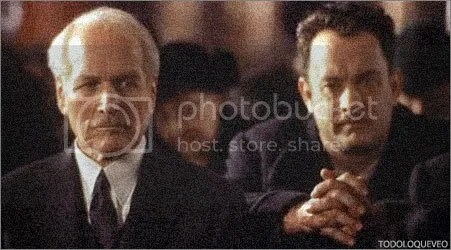 ACTOR. Paul Newman, junto a Tom Hanks, en Road to perdition, de Sam Mendes.