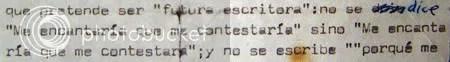 CARTA. De Ernesto Sábato a una seguidora de su obra.