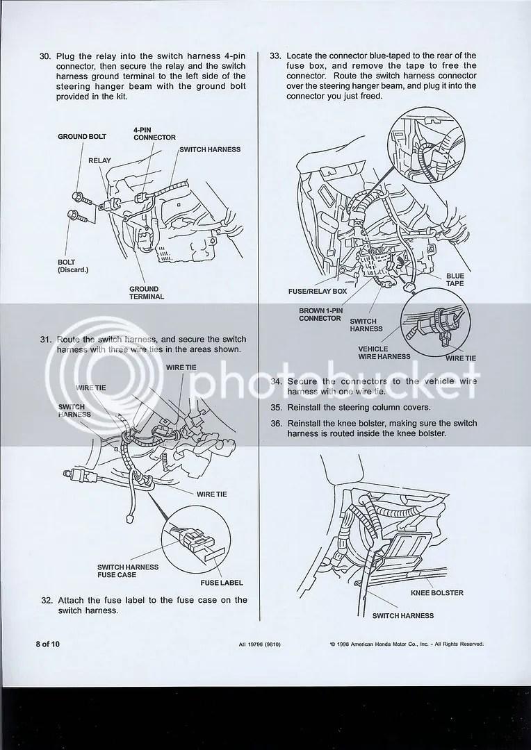 Fuse Box Diagram On Civic Fog Light Wiring Diagram On Fuse Box 2004