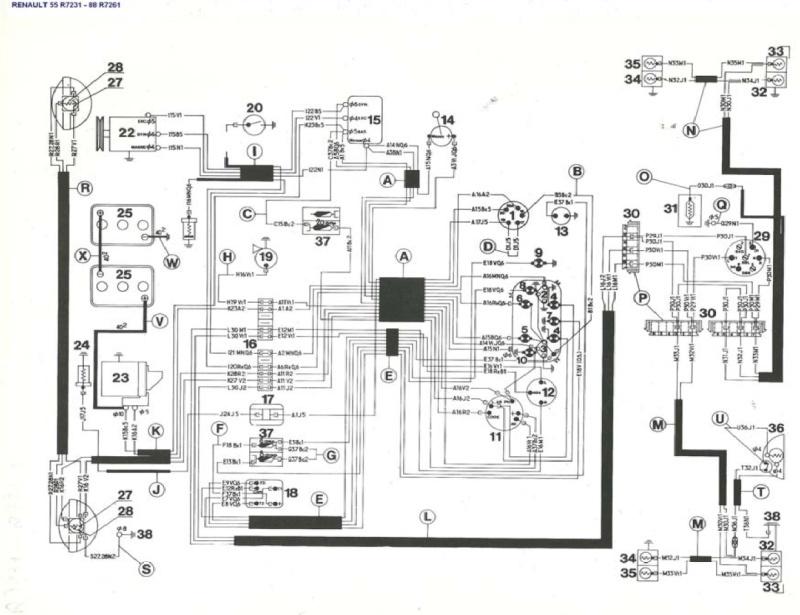 sch u00e9ma tableau fusible xsara 1 9 d sx turbo d