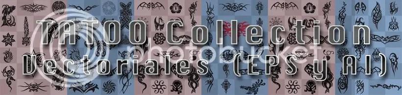 100 Tatuajes en vectores