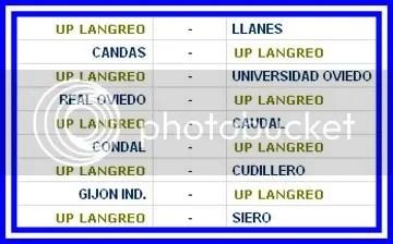 CALENDARIO U.P. LANGREO