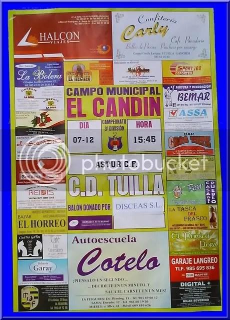CARTEL C.D. TUILLA-ASTUR
