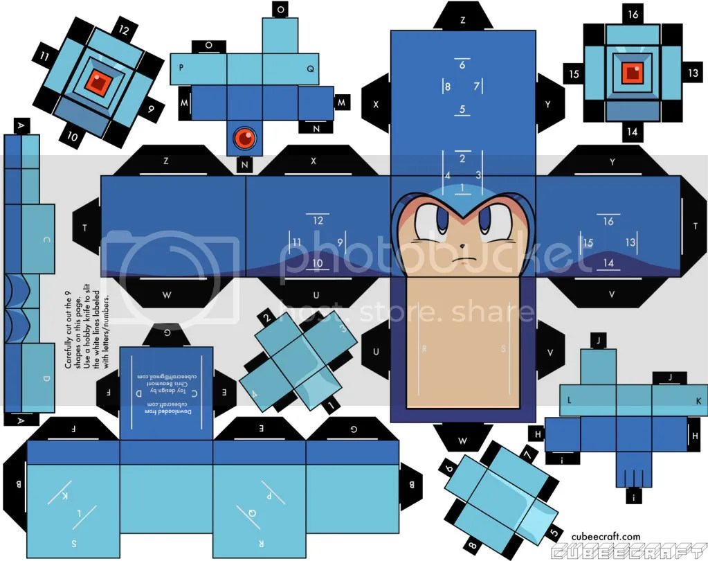 Megaman Cubeecraft