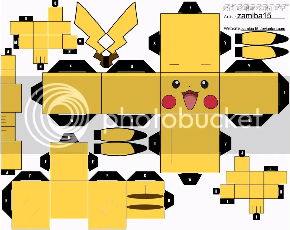 Pikachu Cubeecraft
