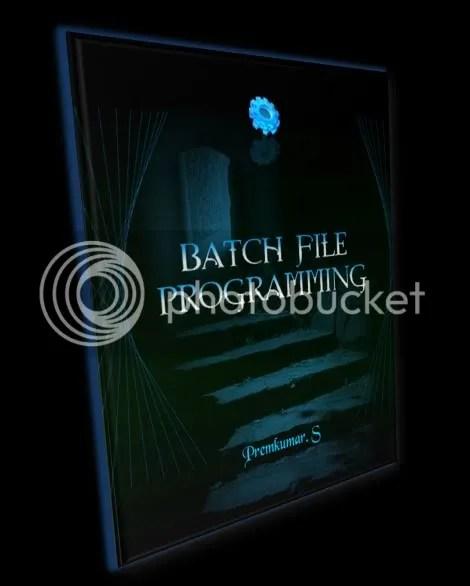 Batch File Programming