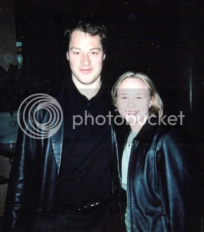 Petr and me, Dallas 2003