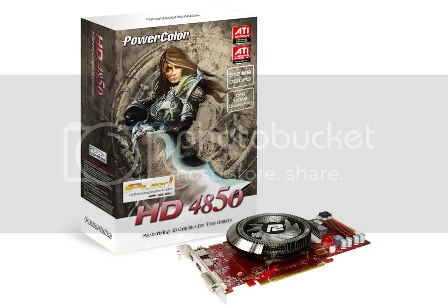 PowerColor ATI Radeon HD4850 Play!