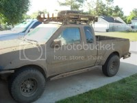 Nissan frontier king cab roof rack