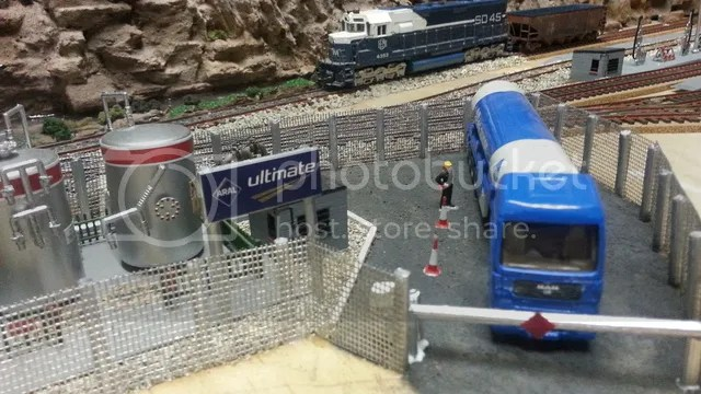 Front view Fuel Depot