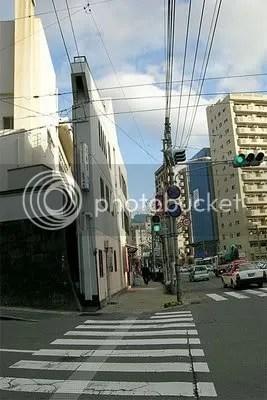 gedung gepeng, foto, jepang