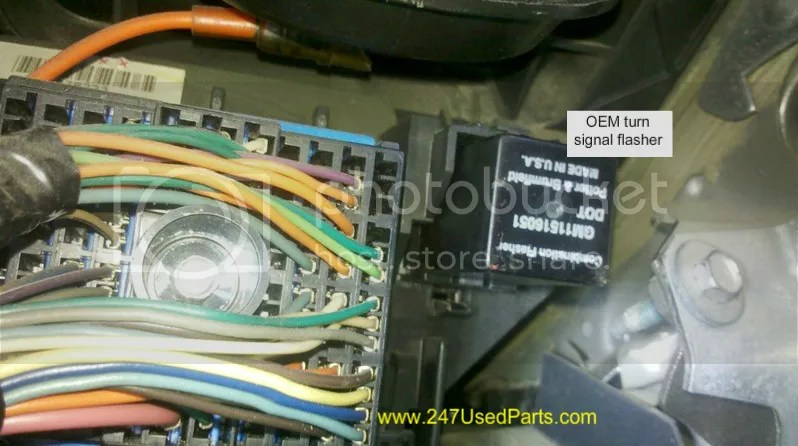 86 Venture Wiring Diagram Where Is Flasher Unit On 2001 Chevy S10 4c S 10 Forum