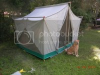 Received from my father, old Coleman canvas tent - AR15.COM