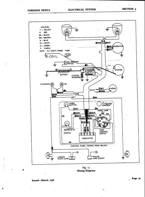 Fordson Major Wiring Diagram : 28 Wiring Diagram Images
