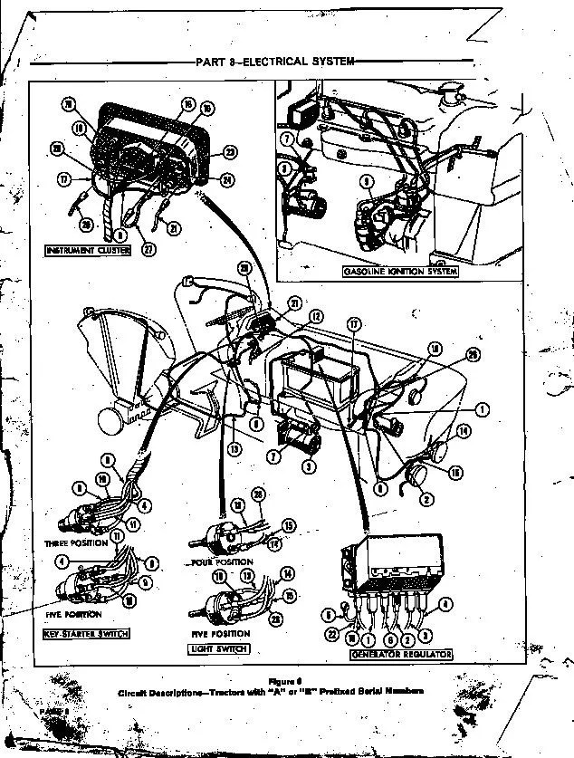 Ford 4000 Tractor Wiring Harness : 32 Wiring Diagram
