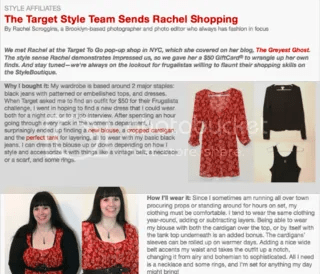 The Greyest Ghost,Target,Fashion