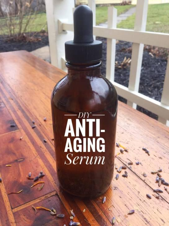 DIY Anti-Aging-Serum