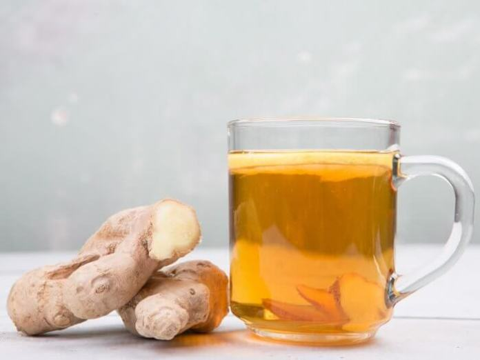 Ginger Root Tea Remedy for Heartburn