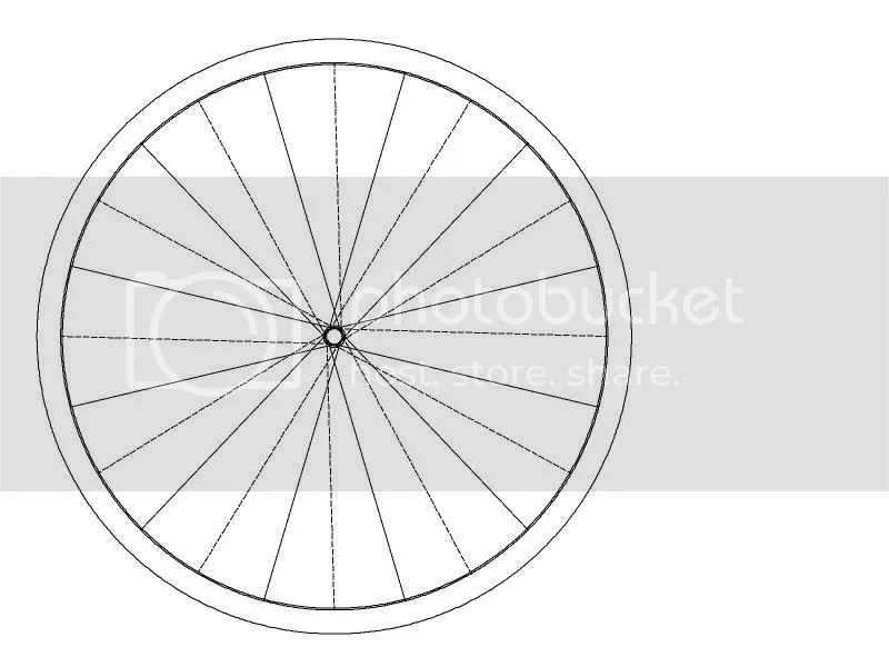 Wheel Builders.... Spoke length calculations with 2d CAD