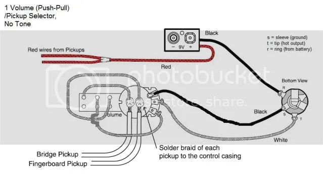 emg wiring diagram push pull