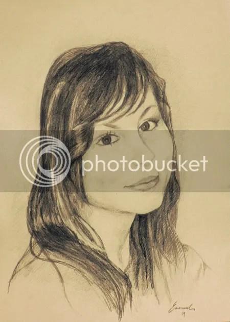 portrait of rebeka