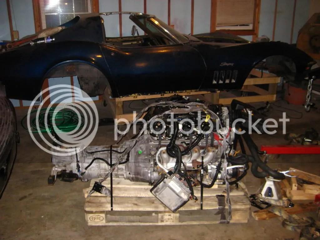 1969 Camaro T56 Crossmember