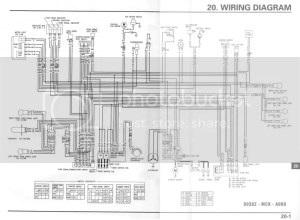 vt1100 wiring diagram help needed  Honda Shadow Forums