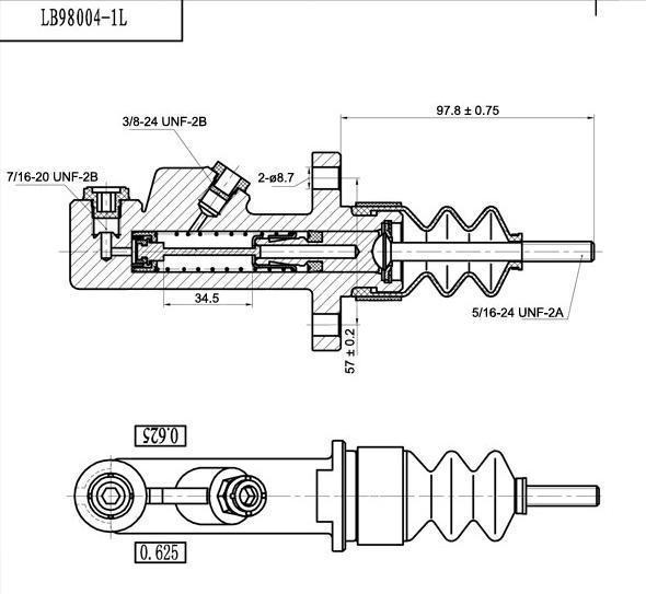 frein à main hydraulique installer r32