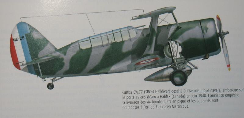 Curtiss Helldiver SBC 4