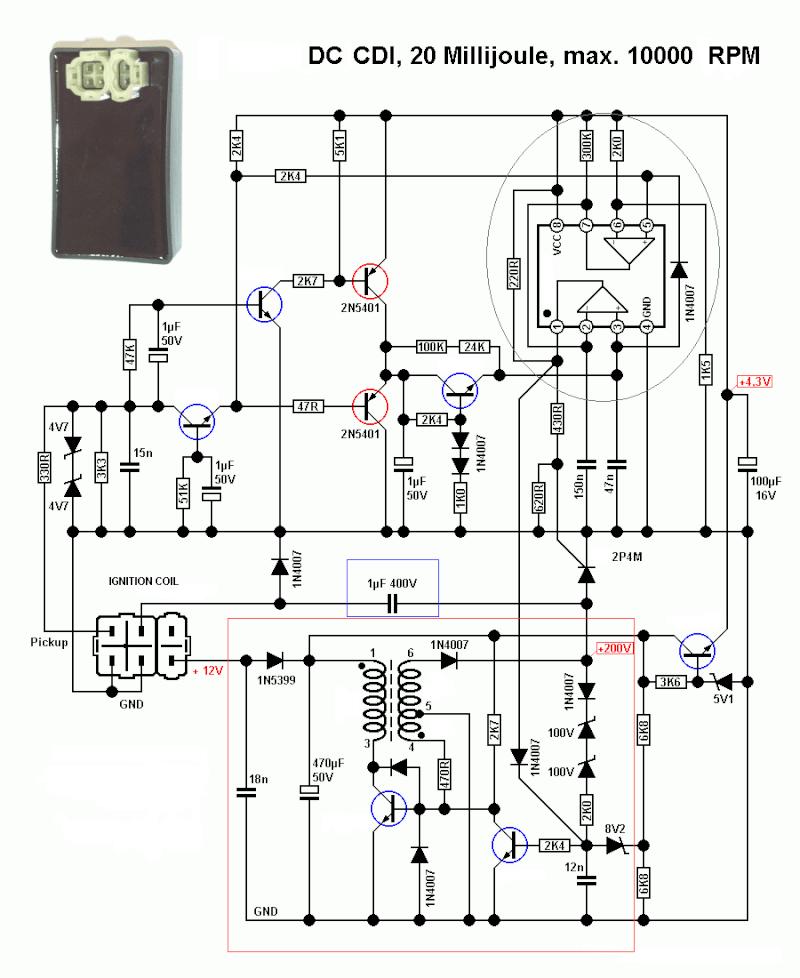 chinese 4 wheeler wiring diagram external fish 8 pin cdi - fuse box
