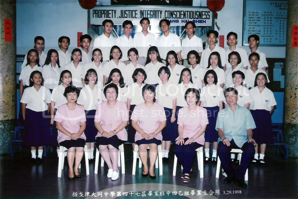 4th Year B Chinese Class