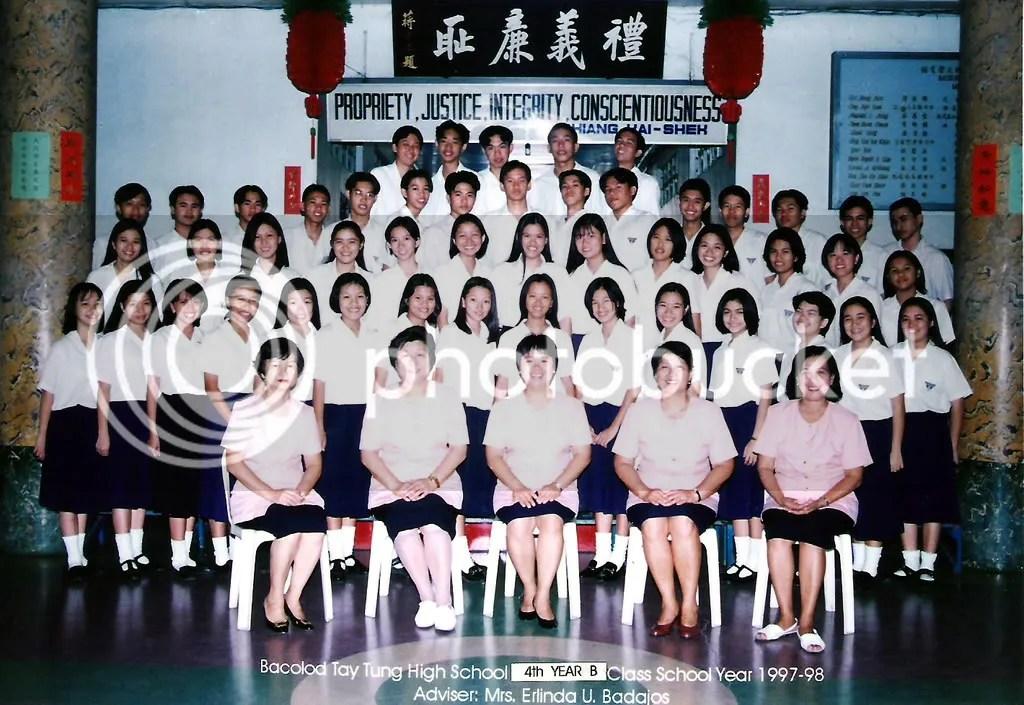 4th Year B English Class