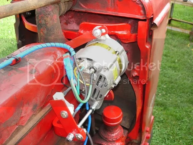 Harvester Farmall M Alternator Conversion Schematic Binatanicom