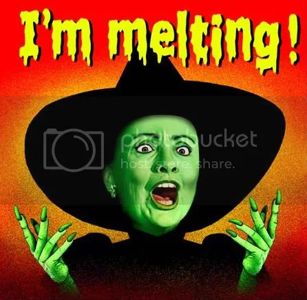 Hillary Melting