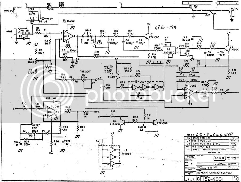 Mxr Pre Amp Wiring Diagram