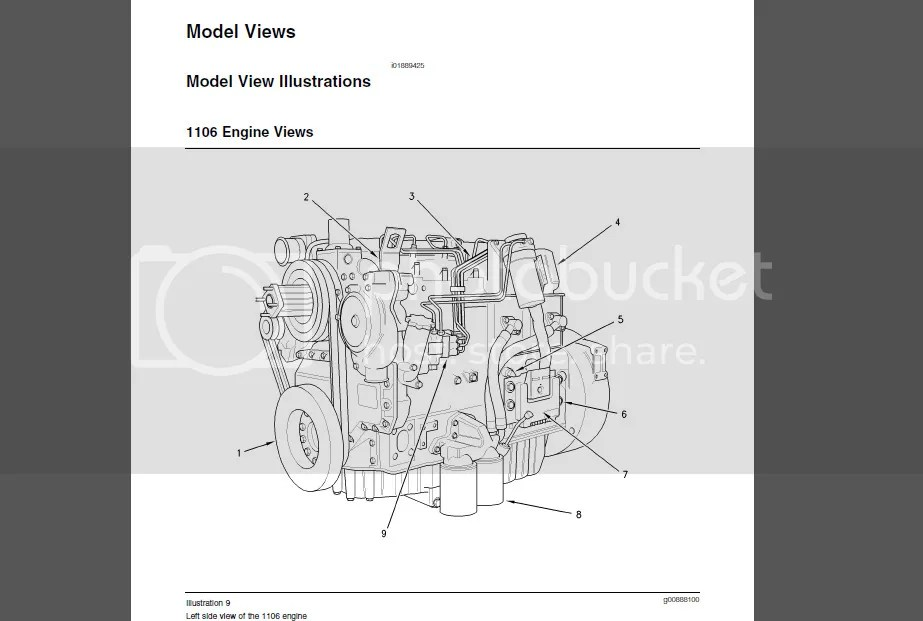 PERKINS 1103 + 1104 ENGINE SERIES WORKSHOP REPAIR MANUAL