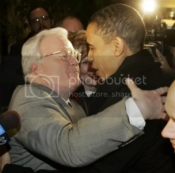 Larry Walsh with Barack Obama