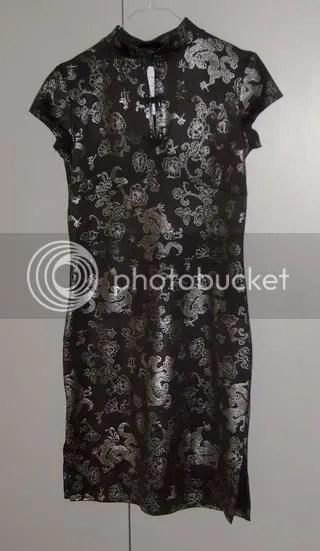 Kina-inspirerad klänning, Hanna