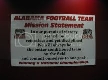 ALABAMA FOOTBALL graphics and comments