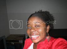 Black woman on fotki sporting her natural nappy hair ...