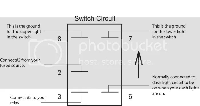 Carling Switch Wiring and Part Numbers
