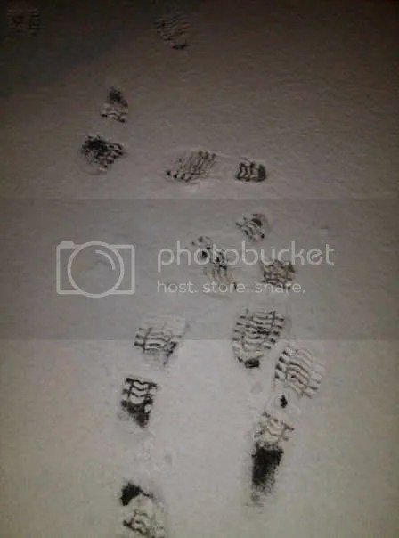 my footprints