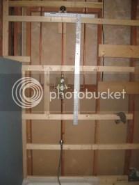 Help? Access panel for shower plumbing: how big