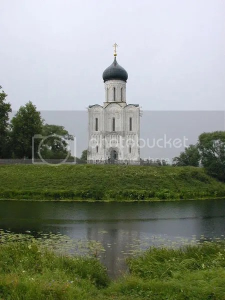 Church of the Protection of the Theotokkos on the Nerl - Russia