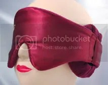 Hibermate Sleep Mask - Burgundy
