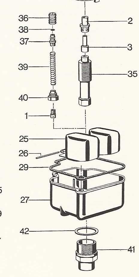 pompe de reprise [innocente] sur R60/5 flatulente
